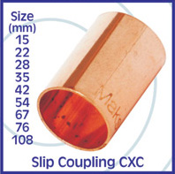 Copper Capillary Fitting